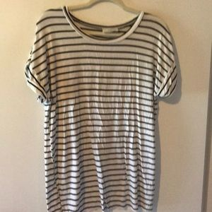 *2 for $15* Black and White Striped Top